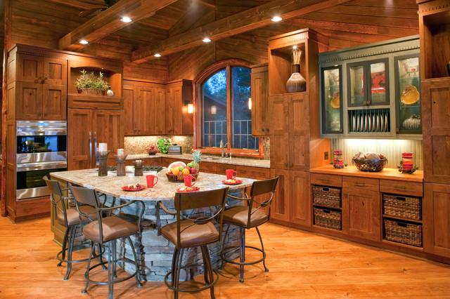 Richards Cross Lake rustic-kitchen
