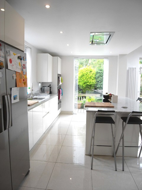 Cabin Hill Park Belfast Contemporary Kitchen Belfast By Gt Building Design