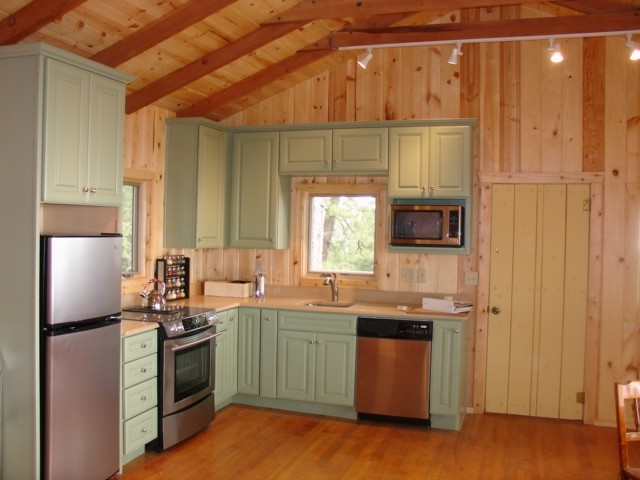 Cabin Kitchen Traditional Kitchen Phoenix By Mccaleb Construction Inc