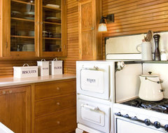 Cabin Up North eclectic-kitchen