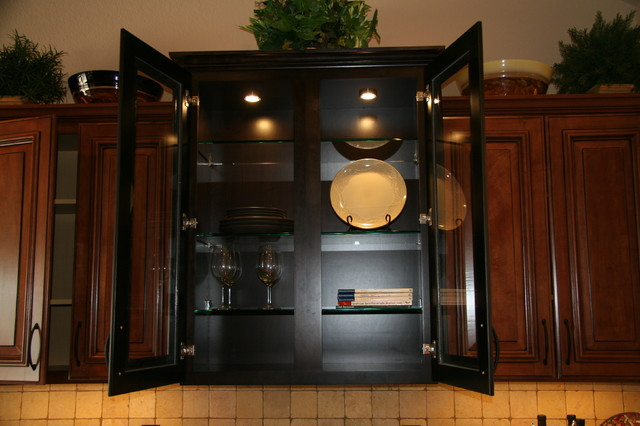 Cabinet Door Glass traditional-kitchen