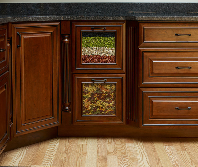 Cabinet Features - Traditional - Kitchen - new york - by Covered Bridge Cabinetry
