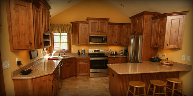 Cabinet Ideas traditional-kitchen