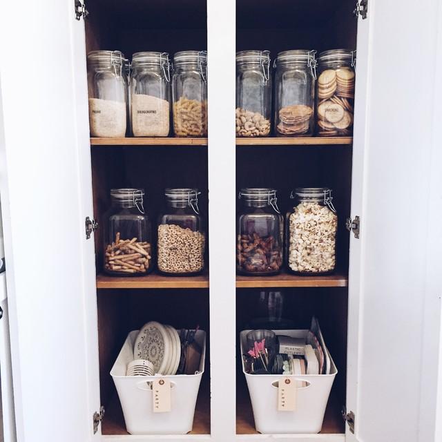 Cabinet pantry - Farmhouse kitchen - Berkeley, CA ...