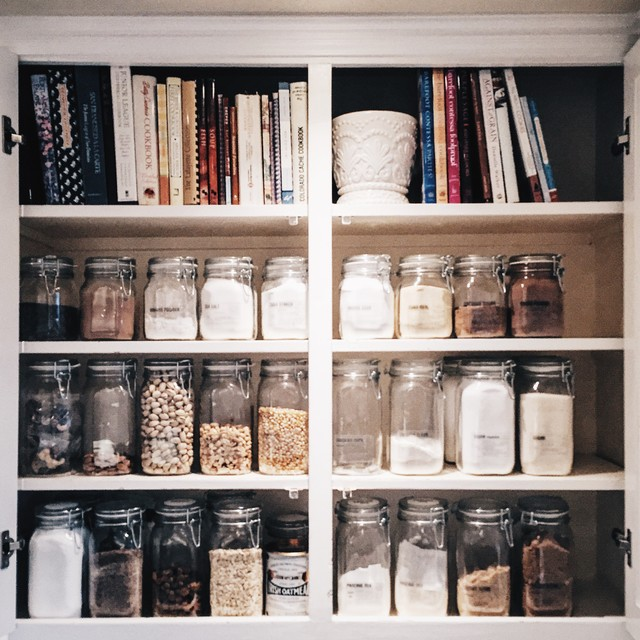 Cabinet pantry - Farmhouse kitchen makeover - Oakland, CA - Traditional - Kitchen - San ...