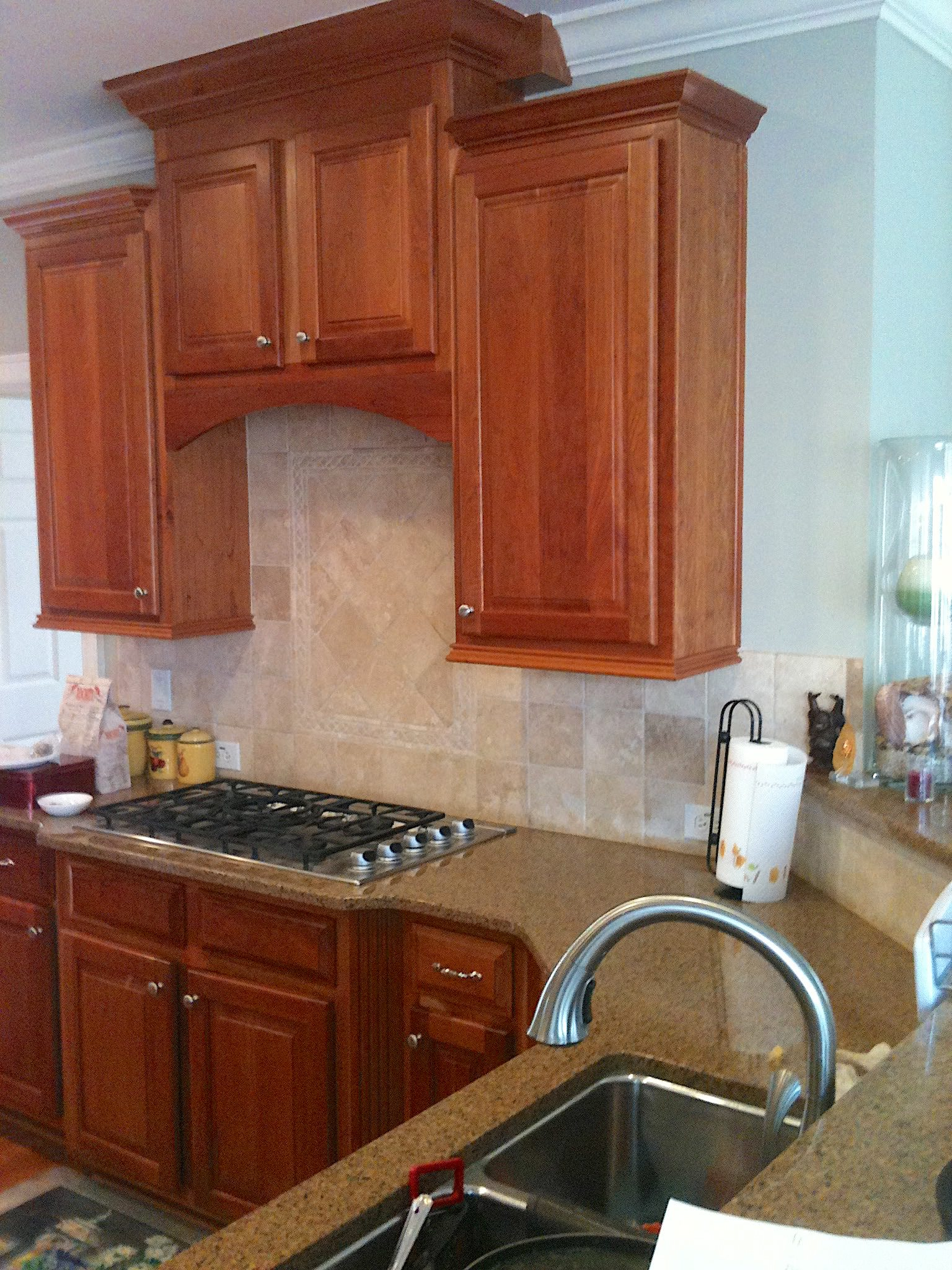 Cabinet Refacing,Cherry