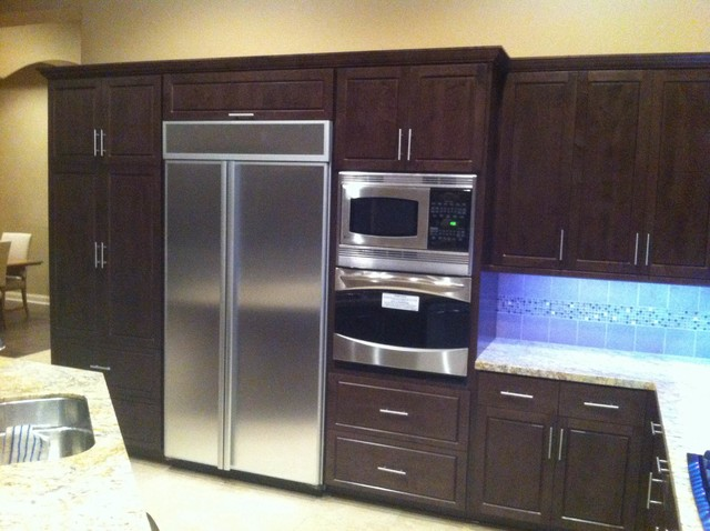 Cabinet Refacing - La Quinta - Modern - Kitchen - other metro - by Diamond Cabinets Refacing Inc