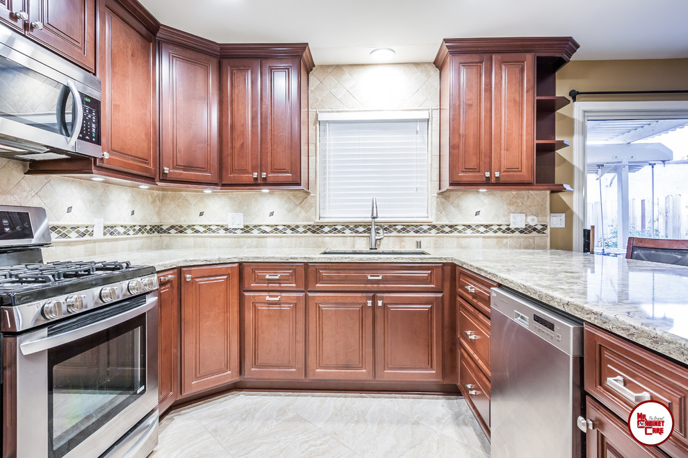 Cabinet Refacing Placentia - Traditional - Kitchen ...