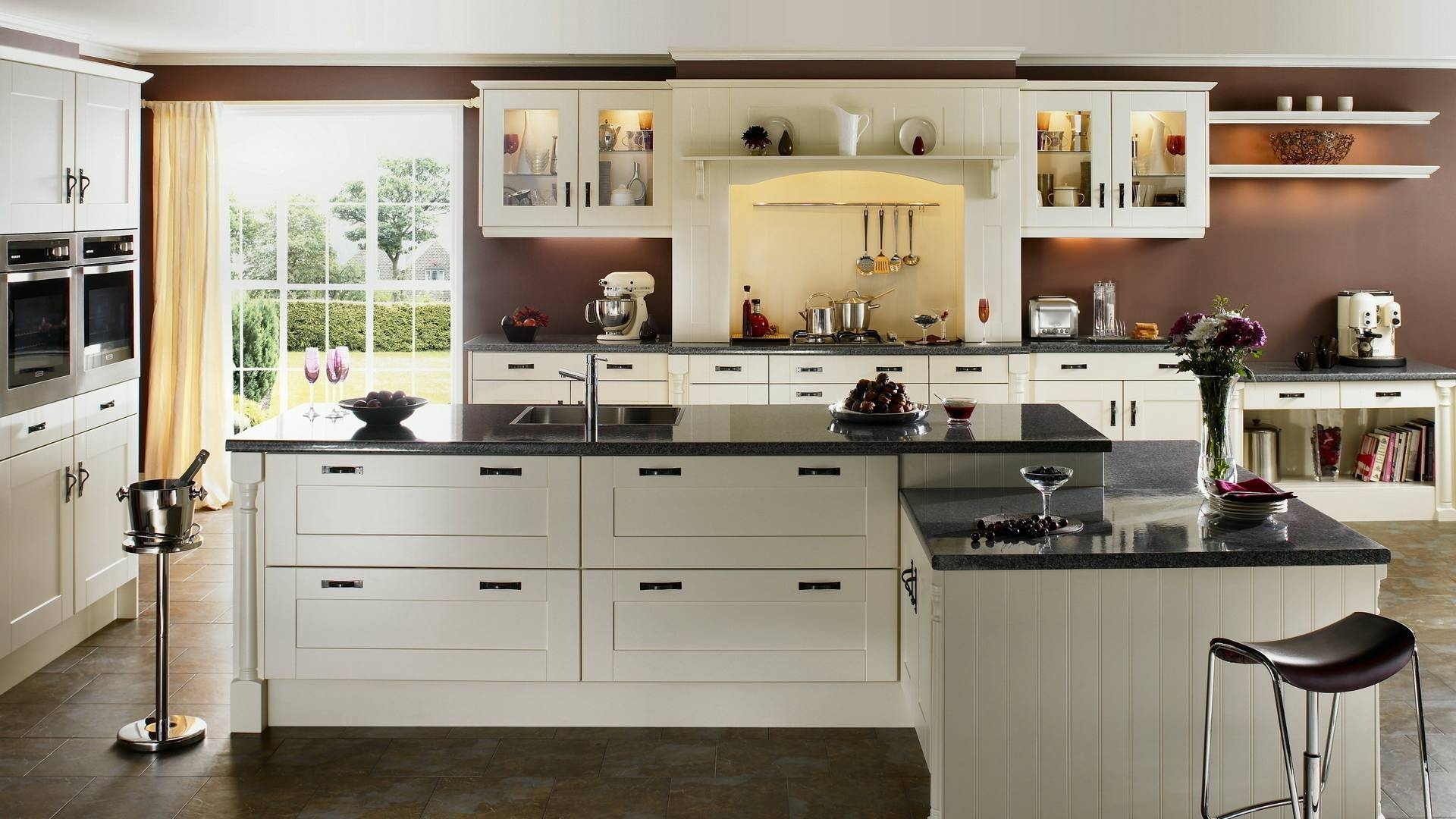 Cabinet Refacing with shaker style doors