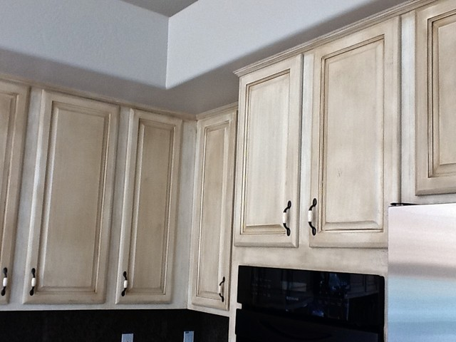cabinet refinishing traditional kitchen phoenix by