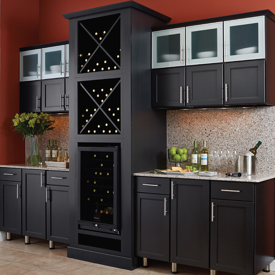 Cabinet Selections - Contemporary - Kitchen - Orange ...