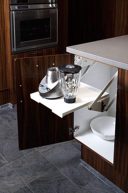 Cabinet Solutions By Hafele - Contemporary - Kitchen - Chicago - by Clark & Barlow Decorative ...