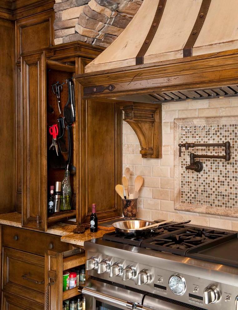 Cabinet Storage - Traditional - Kitchen - Dallas - by LGB ...