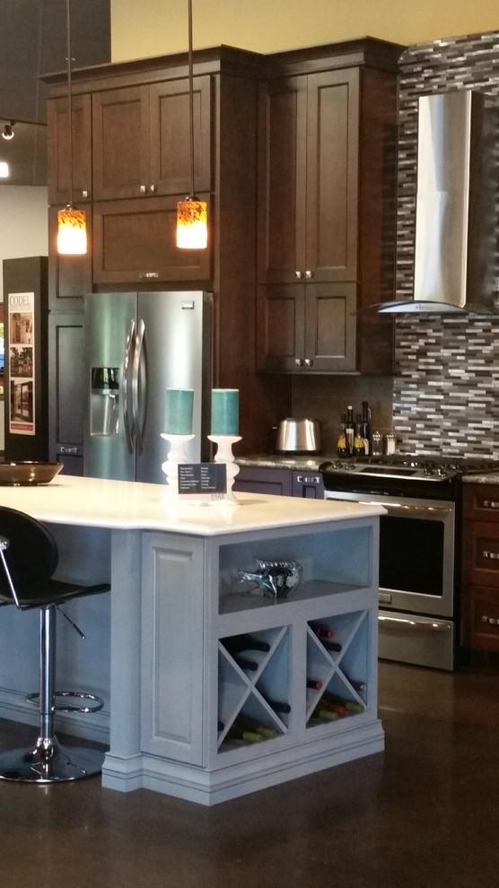 Cabinet Style Ideas - Transitional - Kitchen - Portland ...