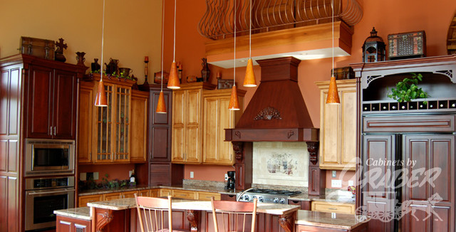 Cabinets by Graber Kitchen Projects traditional-kitchen