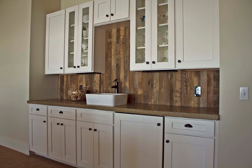 white kitchen cabinets material used what material is used for the backsplash 28848