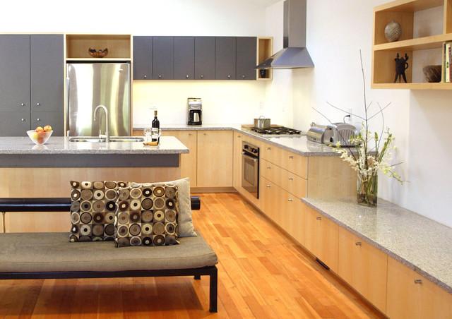 Cabinets In Quarter Sawn Fsc Certified Maple