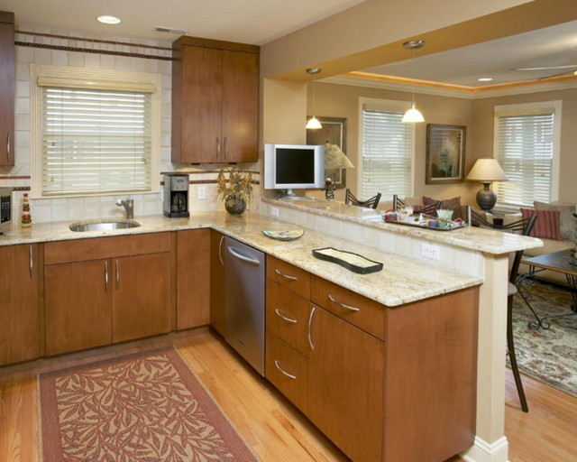 Cabinets, Kitchens and Bathrooms traditional-kitchen