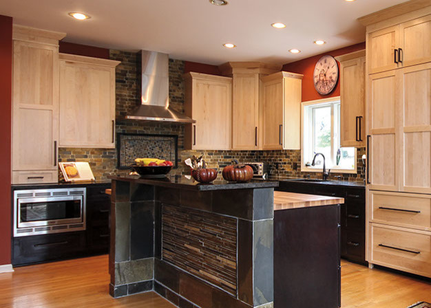 Cabinets transitional-kitchen