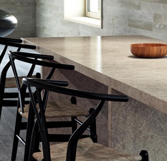 Symphony Kitchen Worktops: Caesarstone 5133 Symphony Grey Quartz