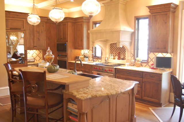 Caffey - Traditional - Kitchen - raleigh - by Omega Creations