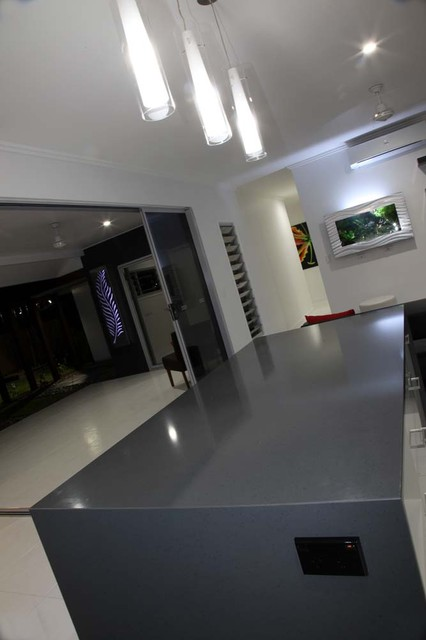 Cairns 9.5 star energy rated sustainable display home modern-kitchen