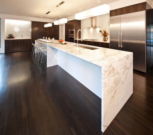 Calacatta Gold Kitchen