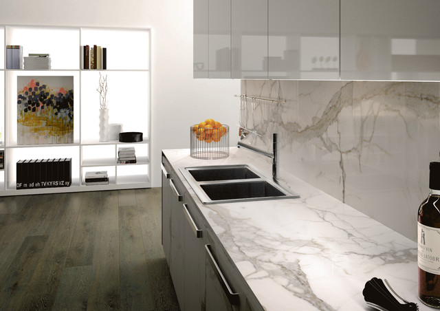Calacatta with for Kitchen ideas with porcelain countertops
