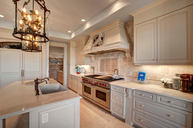 Calgary, New Build, Opulence - Traditional - Kitchen - calgary - by ...