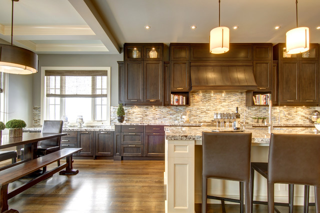 Calgary\'s Country Chic Living - Traditional - Kitchen ...