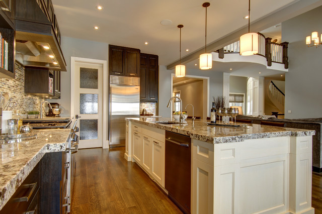 Calgarys Country Chic Living Traditional Kitchen