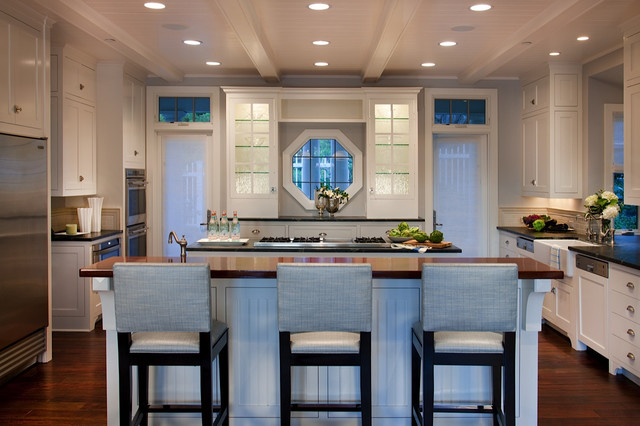 California cape cod traditional kitchen san diego Cape cod style kitchen design