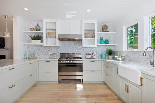 Beach Style Kitchen 20 Beautiful Beach Themed Kitchen Designs