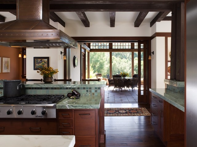 California contemporary craftsman craftsman kitchen for California contemporary interior design