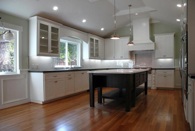 California Contemporary Kitchen traditional-kitchen