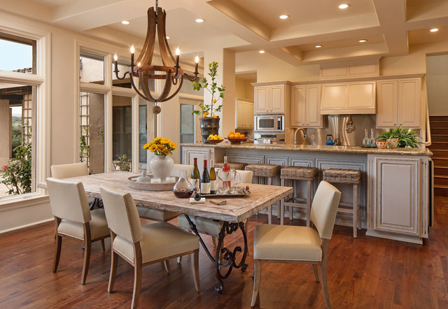 California Contemporary Ranch Kitchen