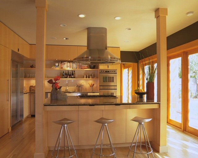 Kitchen Island Ideas With Support Posts opening the kitchen? make the most of that support post