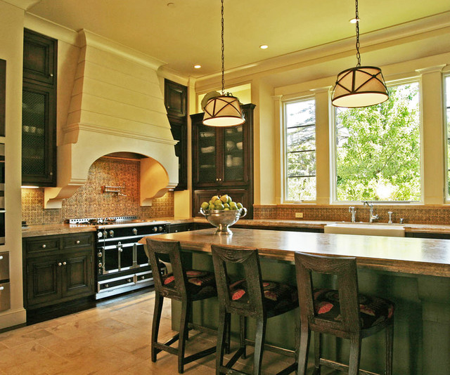 California mission style eclectic mediterranean for California style kitchen
