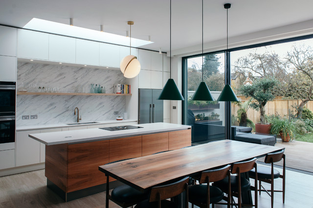 California, Putney modern-kitchen
