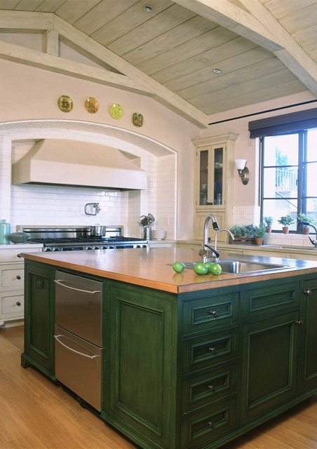 California Ranch mediterranean-kitchen