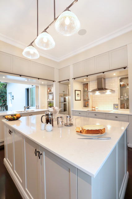 Californian Bungalow Makeover Transitional Kitchen