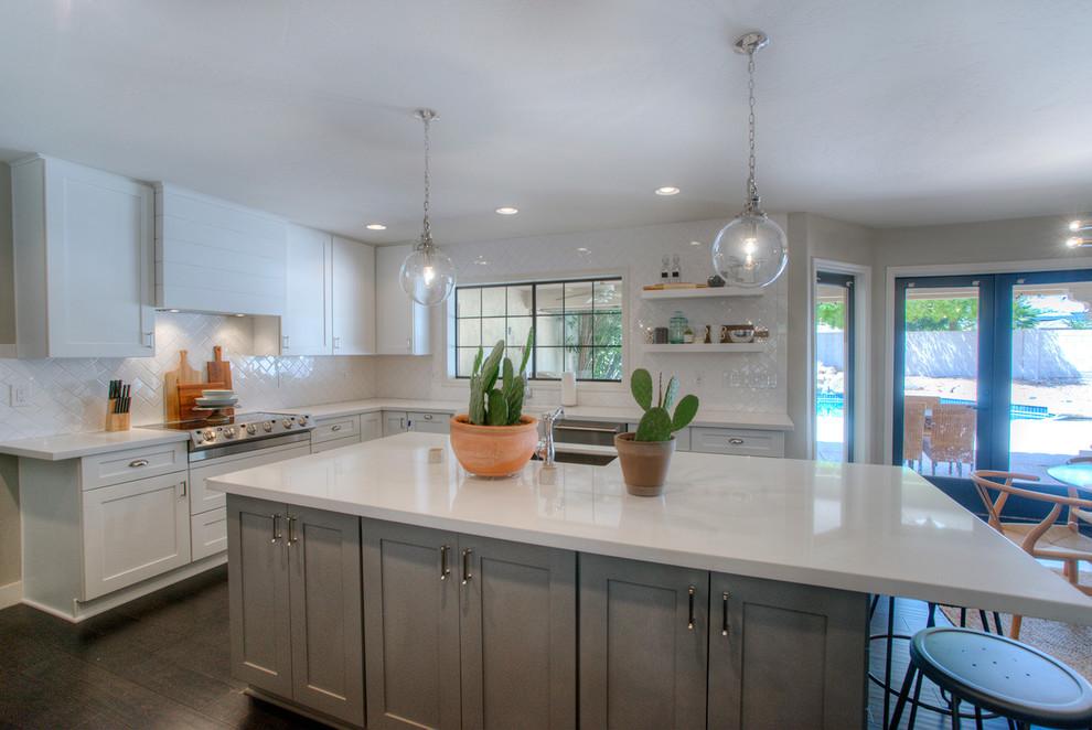 Calle de Arcos Home Remodel - Modern - Kitchen - Phoenix ...