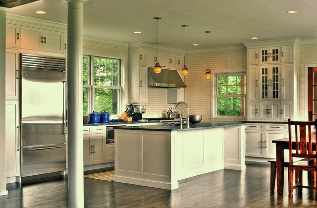 Callicoon Center Kitchen traditional-kitchen
