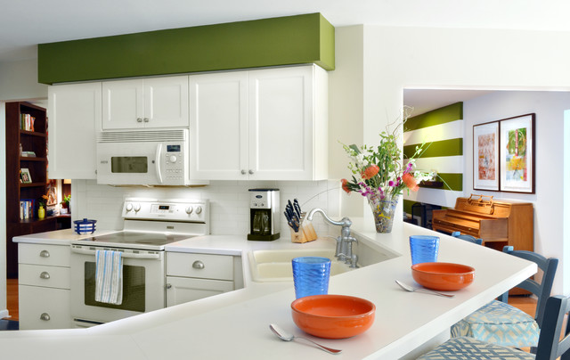 Caloosa Ave. Residence eclectic-kitchen