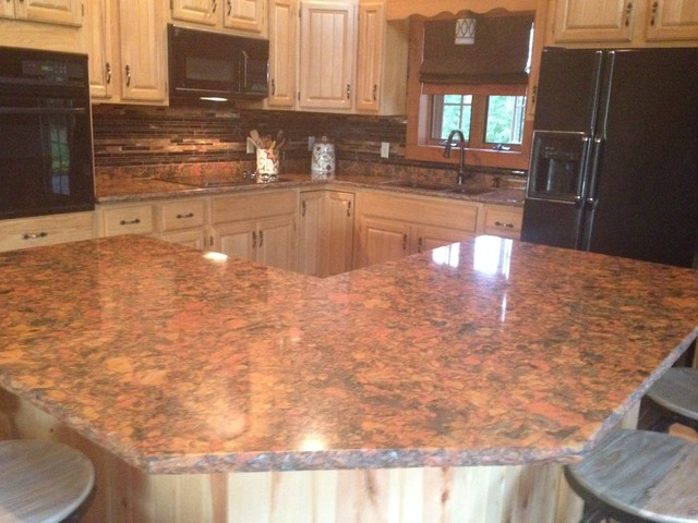 Cambria Countertops Rustic Kitchen Other Metro By