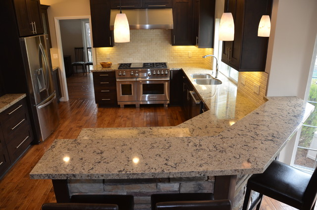 Cambria Newhaven countertops - Traditional - Kitchen - San Francisco