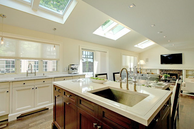 Cambria Torquay From The Marble Collection Traditional Kitchen