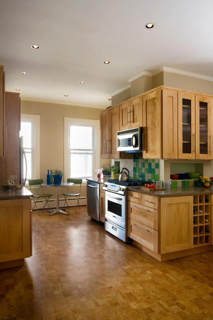 Cambridge MA Renovation contemporary-kitchen