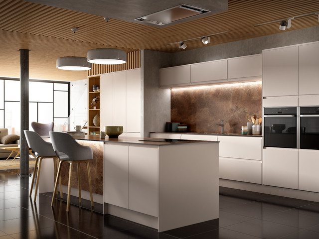 Camden Dove Grey Kitchen Contemporary Kitchen Other