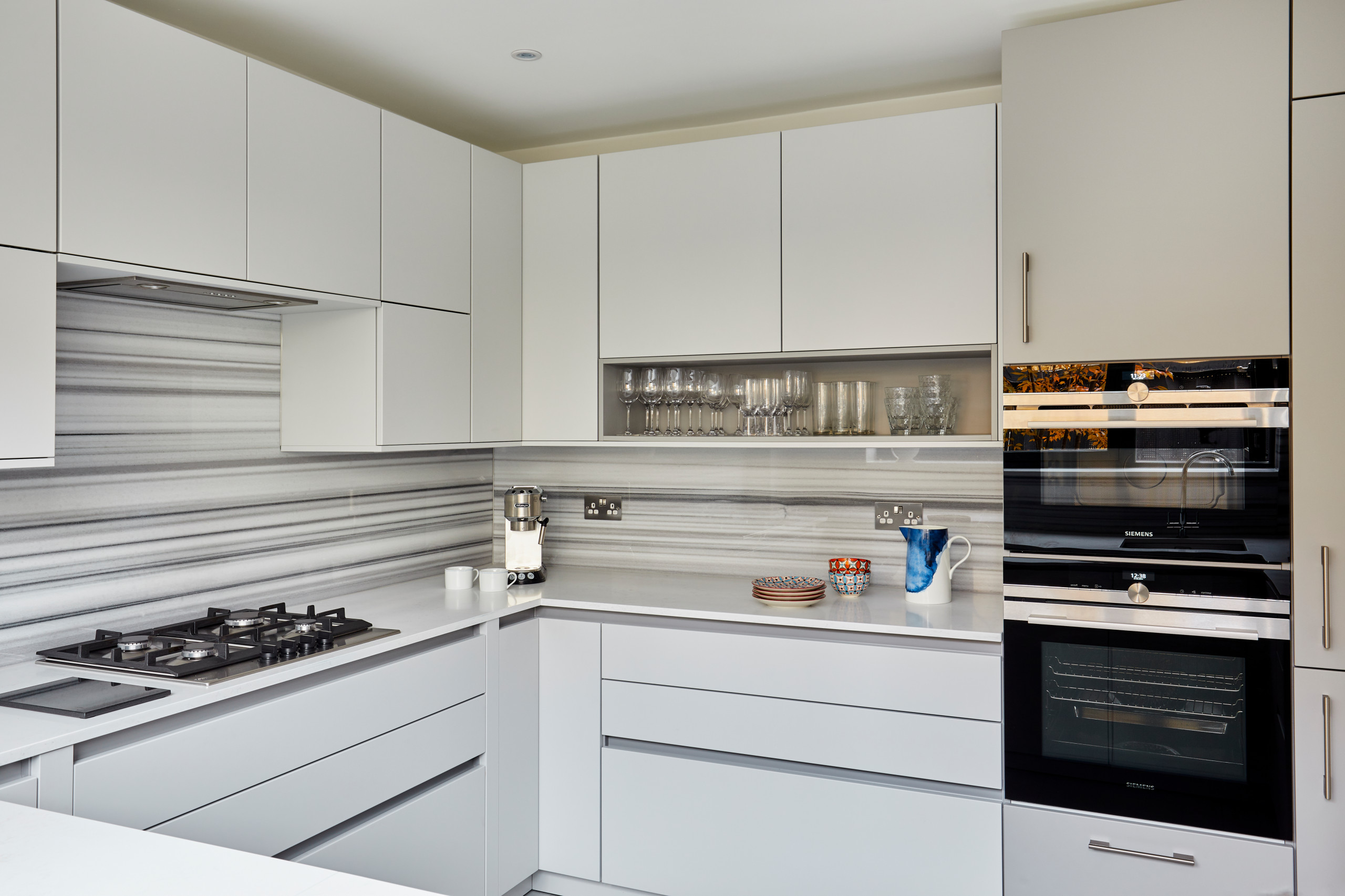 Camden Mews Kitchen and cloakroom
